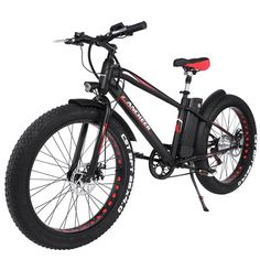 ANCHEER Fat Tire Electric Bike with 300W Brushless Motor