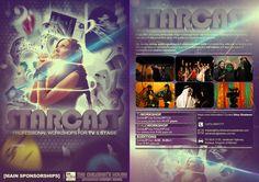 Starcast Flyer by abubaker-studios on DeviantArt Public Speaking, Brochure Design, Studios, Workshop, Deviantart, Movie Posters, Atelier, Film Poster, Popcorn Posters