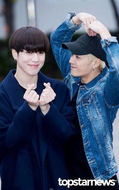 [HD포토] 갓세븐(GOT7) 유겸-잭슨 사랑아 유겸해 (뮤직뱅크 출근길) #topstarnews