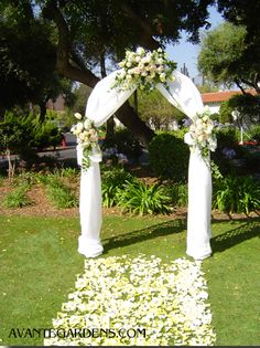 20 DIY Floral Wedding Arch Decoration Ideas | Pinterest | Floral ...