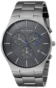 Skagen Men's SKW6077 'Balder' Titanium Watch with Link Bracelet >>> Details can be found by clicking on the image.