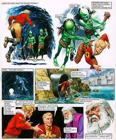 The Trigan Empire - Look and Learn issue 739(a) (Original) art by The Trigan Empire (Don Lawrence) at The Illustration Art Gallery
