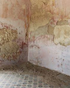 Pastel walls.  Wallpaper colour palette inspiration: The Bridal Collective Blog.