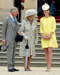She's Glowing! Kate Middleton Shows Off Baby Bump in Yellow Coat Dress