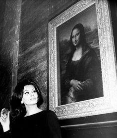Mona Lisa & Sophia Loren