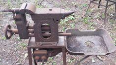 RARE 1920 Champion Combination Blacksmith Coal Forge Anvil Vise Drill Blower | eBay
