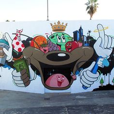 Dabs & Myla based in Los Angeles / 19 Street Artists To Keep An Eye On (via BuzzFeed)