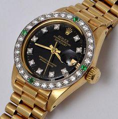 cce4335b172 Rolex oyster perpetual date just relógio feminino de ouro amarelo com  pulseira presidente jpg 236x239 De