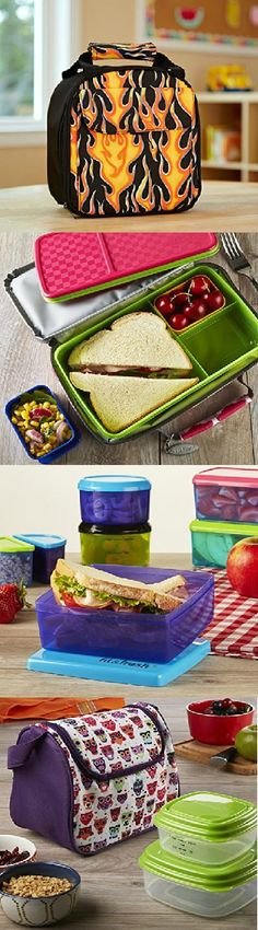 Check out some of the best lunch and snack solutions for 2015 back to school! Fun, vibrant colored products are conveniently sized to make bringing healthy, delicious lunches to school easy! View the entire collection at www.Fit-Fresh.com.