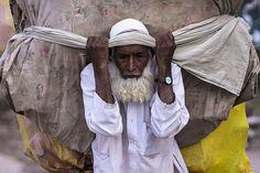 Banigala Islamabad Pakistan Burden On Old Bones-II by InayatShah