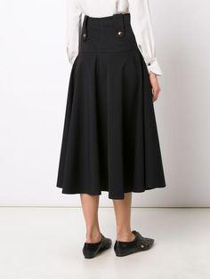 Derek Lam расклешенная юбка средней длины