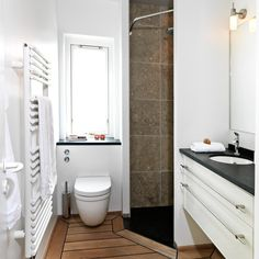 small bathroom layout Small Bathroom Layout, Toilet, Interior, Inspiration, Bathrooms, Room Ideas, Home Decor, Sweet, Indoor