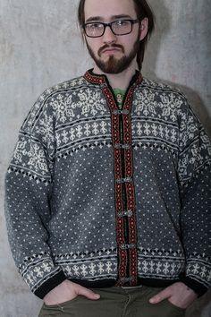 label: Haandstrikk all wool Made in Norway