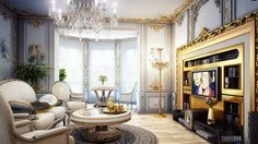 comfortable extravagant victorian living room decorating