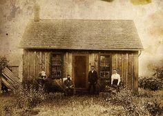 Early  mid 1800s Oil Springs Pioneers by jumpinjimmyjava, via Flickr