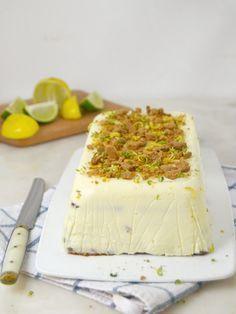 Tarta fría de leche condensada, limón y galletas