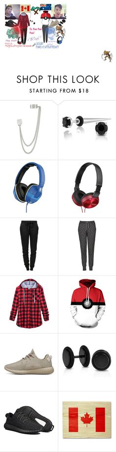 """""""Mitch Hughes/BajanCanadian and Lachlan Power/CraftBattleDuty"""" by frnksfrthmmrsx on Polyvore featuring French Connection, Bling Jewelry, Skullcandy, Sony, T By Alexander Wang, Topshop, adidas Originals, adidas, women's clothing and women's fashion"""