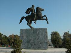 Alexander the Great statue, Thessaloniki My Love
