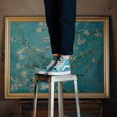 Vincent Van Gogh may not have worn Vans. But if he did, they'd be 🔥. Coming soon to Sneakersnstuff! #vansxvangoghmuseum #sneakersnstuff #vincentvansgogh