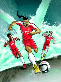 Supa Strikas South Africa and KFC ...