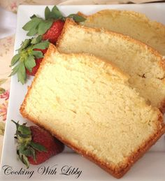 Love pound cake - add a little lemon zest to the recipe to give it a fresh kick.