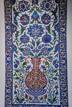 Mosaic Tile at Museu Calouste Gulbenkian Lisbon Portugal
