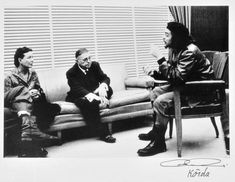 Simone de Beauvoir, Jean-Paul Sartre y Ernesto Che Ghevara