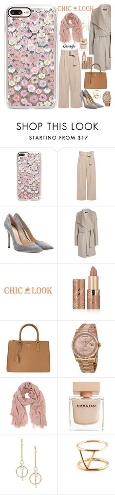 """""""Pastello Chic 🌸"""" by casetify ❤ liked on Polyvore featuring Casetify, A.L.C., Gianvito Rossi, Joseph, tarte, Prada, Rolex, Mint Velvet, Narciso Rodriguez and SOKO"""