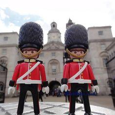 We stand guard #playmobil #London #horseguardsparade #guards #bearskin