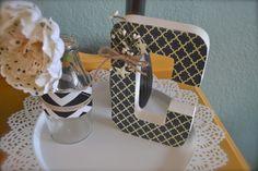 Glitter & Glue // Craft Parties ~ make your own decorative letter. www.letsglitterandglue.com