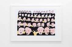 "Freja Erixån - ""Choir"" Signed and numbered art print, limited edition of 15. Available at www.masterverk.se"