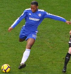 Didier Drogba of The Ivory Coast  Current Team - Chelsea