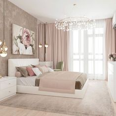 Bright Colorful Bedroom Decor IdeasYou can find Bedroom ideas master and more on our Bright Colorful Bedroom Decor Ideas Luxury Bedroom Design, Girl Bedroom Designs, Master Bedroom Design, Bedroom Styles, Bedroom Colors, Home Decor Bedroom, Bedroom Furniture, Bedroom Art, Master Suite