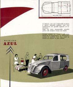 Citroën 2cv - 50's folder