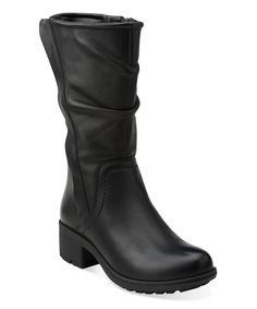bcbc14521357 Black Mansi Juniper Leather Boot Black Leather Boots