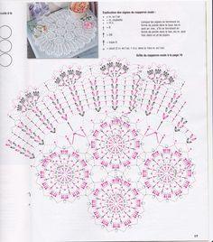 créations crochet: napperon