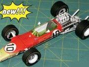 F1 Paper Model - 1968 Spanish GP Jarama Lotus 49 Paper Car Free Template Download
