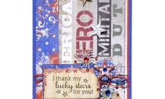 Crafts n' things Weekly - lucky stars card