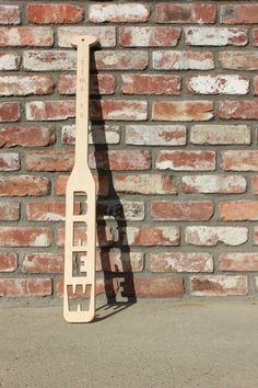 Time to Brew Mash Paddle by ImprobableConstruct on Etsy, $55.00