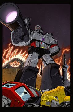 What If Megatron Colors Done Low Res by =BDixonarts on deviantART