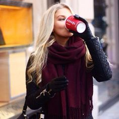 Who needs a phone in ur hand when u could be holding a Starbucks cup Because the Christmas cup is a winter essential.
