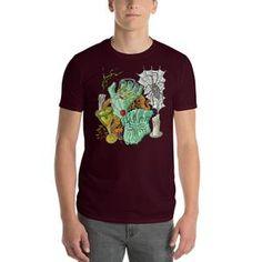 5d738f09d Short-Sleeve T-Shirt Sunken Treasure with Candles ADEPT TEXTILES Regular  price $19.99