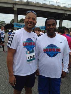 Marathon Men Phil & Mayor Brown Gate River Run