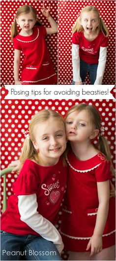 5 Simple tips for posing kids: How to get more sweet smiles, less little beastie scares! | Peanut Blossom