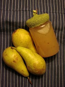Marmalade from pears spices up with rom. Chutney, Candy Drinks, Marmalade, Candy Recipes, Spice Things Up, Pickles, God Mat, Presenter, Juice