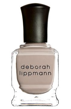 "I want this color! It looks great on everyone. ""Fashion"" by Deborah Lippmann Nail Color #Nordstrom"