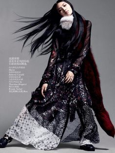 Vogue China October 2013 | Chiharu Okunugi | Daniel Jackson