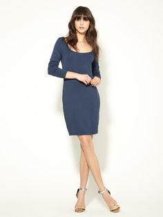 Soft Jersey Scoop Dress by Firth on Gilt  so Zoey Deschanel