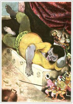 Jiri Trnka - Arabian Nights - Czech Illustrator - Puppet Maker