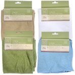 The Home Collection Microfiber Wash Cloths, 3 ct.